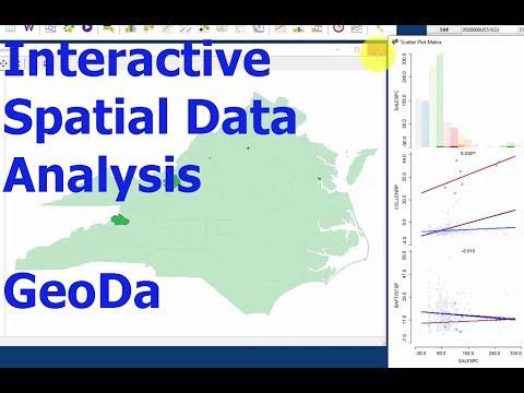 Exploratory Spatial Data Analysis 1: Intro to GeoDa: