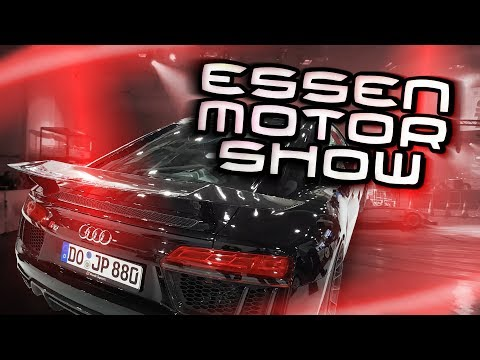 Essen Motor Show 2017 (EMS 2017) | JP Performance Stand | Sidney Industries | Simon Motorsport uvm.