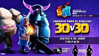 Evento ESPECIAL! Más de $200dlls en Premios! Invitados SORPRESA en llamada! | Clash of Clans