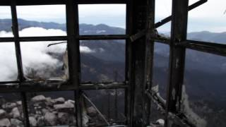 360 degree video from Monjeau lookout in Ruidoso NM after the Little Bear fire.