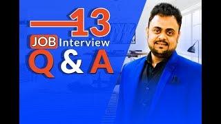 13 Job Interview Q&A | BSDI Skills Talk