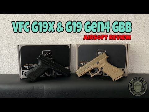 [REVIEW] VFC GLOCK 19X und GLOCK 19 Gen.4 GBB