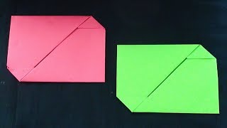 Paper Envelope Origami | How to make paper Crafts Tutorials