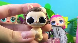 Куклы ЛОЛ МАМА ПОТЕРЯЛА ДОЧЬ-ЗВЕЗДУ И... LOL Surprise Lils распаковка мультик для детей на русском