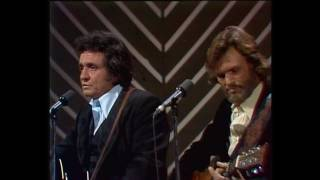 Kris Kristofferson & Johnny Cash - Sunday morning coming down (1978 Johnny Cash Christmas Show)