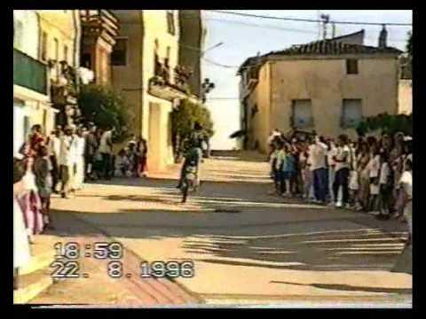 fiestas oteiza 1996 bicis txikis