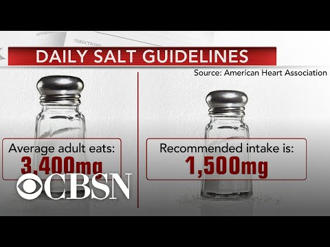 New study reveals eating too much sodium is No. 1 risk for diet-related death