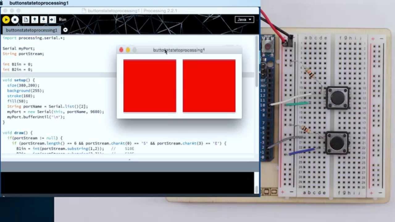 Arduino und processing tutorial daten vom