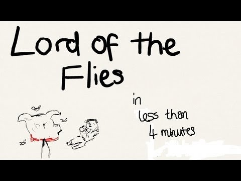 Lord Of The Flies In Less Than 4 Minutes Nerdswillwin Youtube