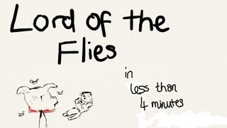 Lord Of The Flies (In Less Than 4 Minutes) | nerdswillwin