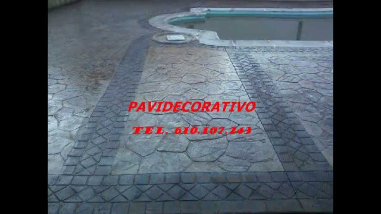 Hormigon decorativo para suelos video sotolargo youtube - Hormigon decorativo para suelos ...