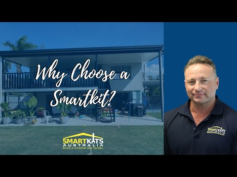 Why choose a patio, deck or carport from Smartkits Australia.