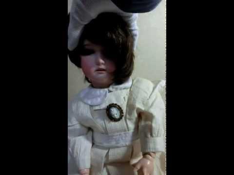 Antique CM Bergmann II 23 Composition Doll Germany Bisqu