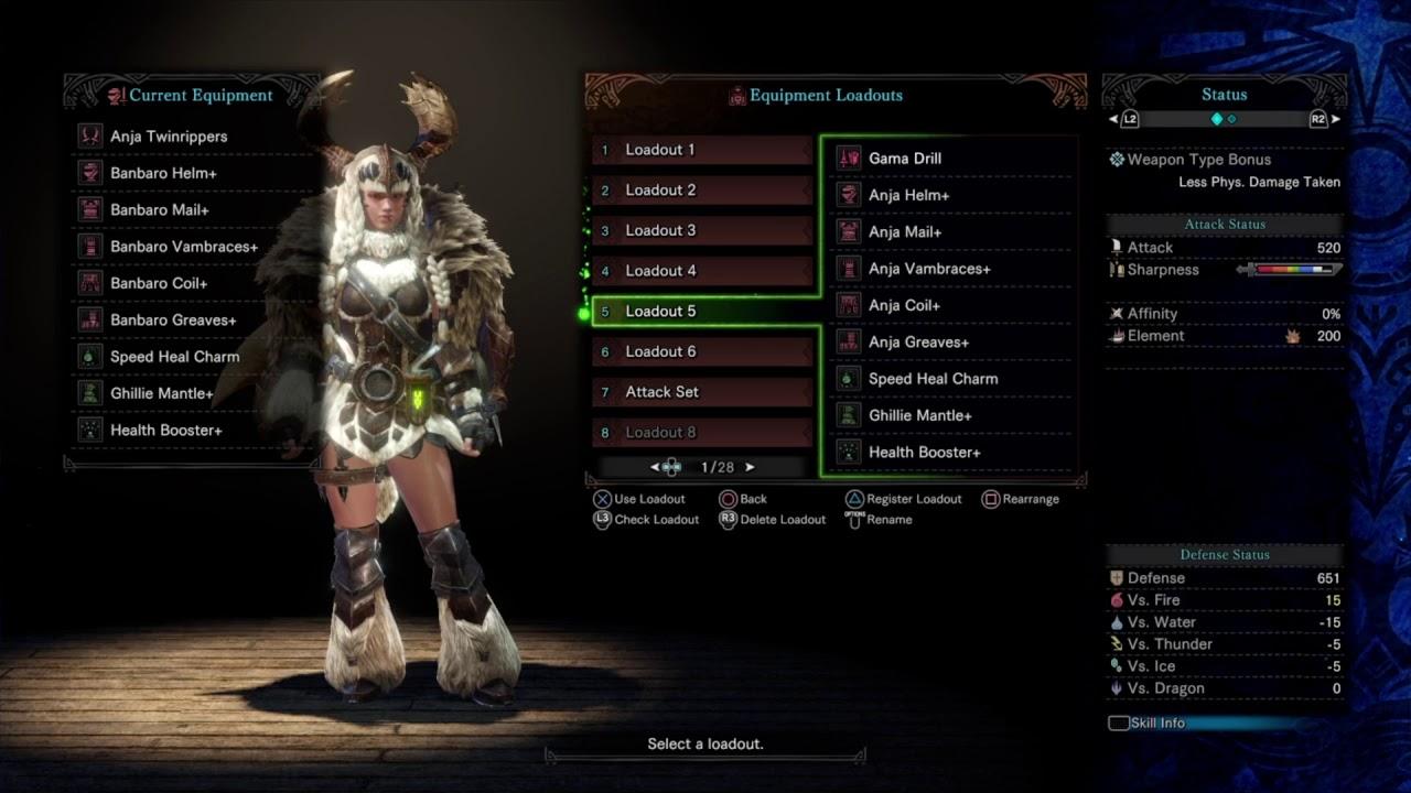 Monster Hunter World Iceborne Beta Female Master Rank Armor