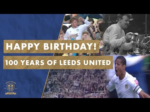 Happy 100th Birthday Leeds United! Our Centenary! #MOT