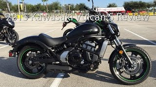 2015 Kawasaki Vulcan S Extended Reach Motorcycle Review