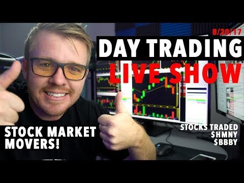 8/20/17 Day Trading LIVE STREAM