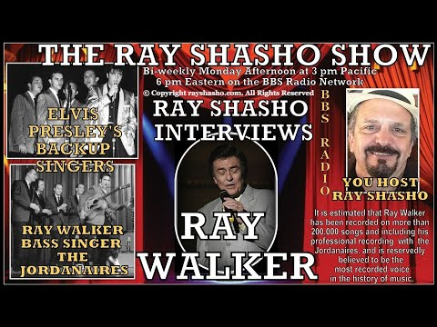 RAY WALKER OF THE LEGENDARY JORDANAIRES TALKS ELVIS!