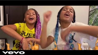 The Lit Sisters- Lit Sister Anthem ft. Kd Da Kid (Official Music Video) Prod. By Cash Clay
