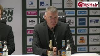 1878 TV | Pressekonferenz 13.10.2019 Augsburg - Nürnberg 5:1