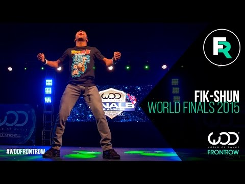 Fik-Shun | FRONTROW | World of Dance Finals 2015 |...