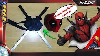 #19 Tio Stark - Pepakura / Papercraft - Deadpool com suporte ( Como fazer )