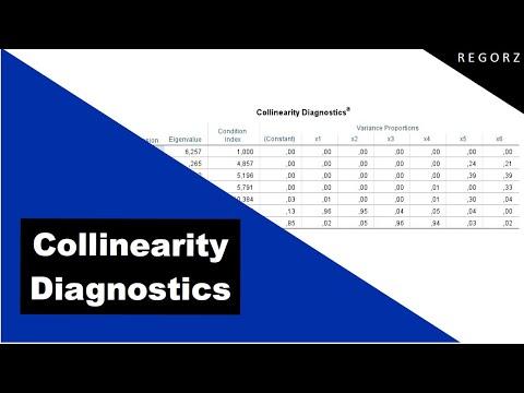 """Table """"Collinearity Diagnostics"""" In SPSS: Interpretation"""