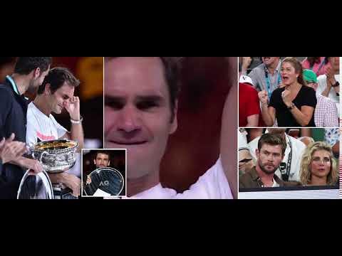 Fantastic Federer breaks down in tears as the Swiss maestro  in history to win 20 Grand Slam titles