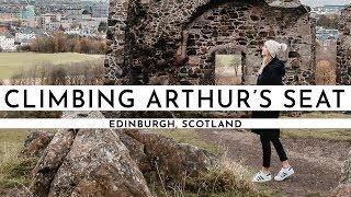 CLIMBING ARTHUR'S SEAT & CHASING HARRY POTTER · EDINBURGH, SCOTLAND | TRAVEL VLOG #71