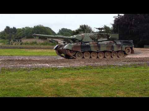 Leopard 1 A3 Display  *Amazing commentary* The Tank Museum Uk