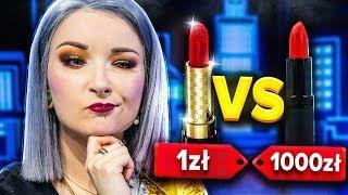 TANIE vs DROGIE kosmetyki z Red Lipstick Monster!