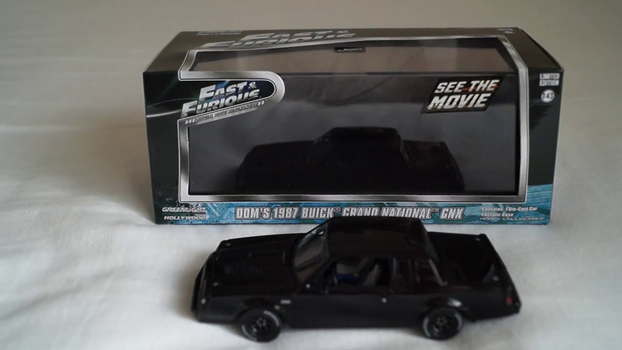 fast and furious greenlight collectibles doms 1987 buick