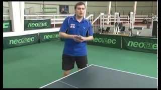 Уроки настольного тенниса А.Власова для начинающих. Часть 4