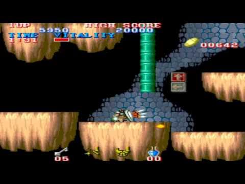 Black Dragon (Black Tiger) Video Game 1987