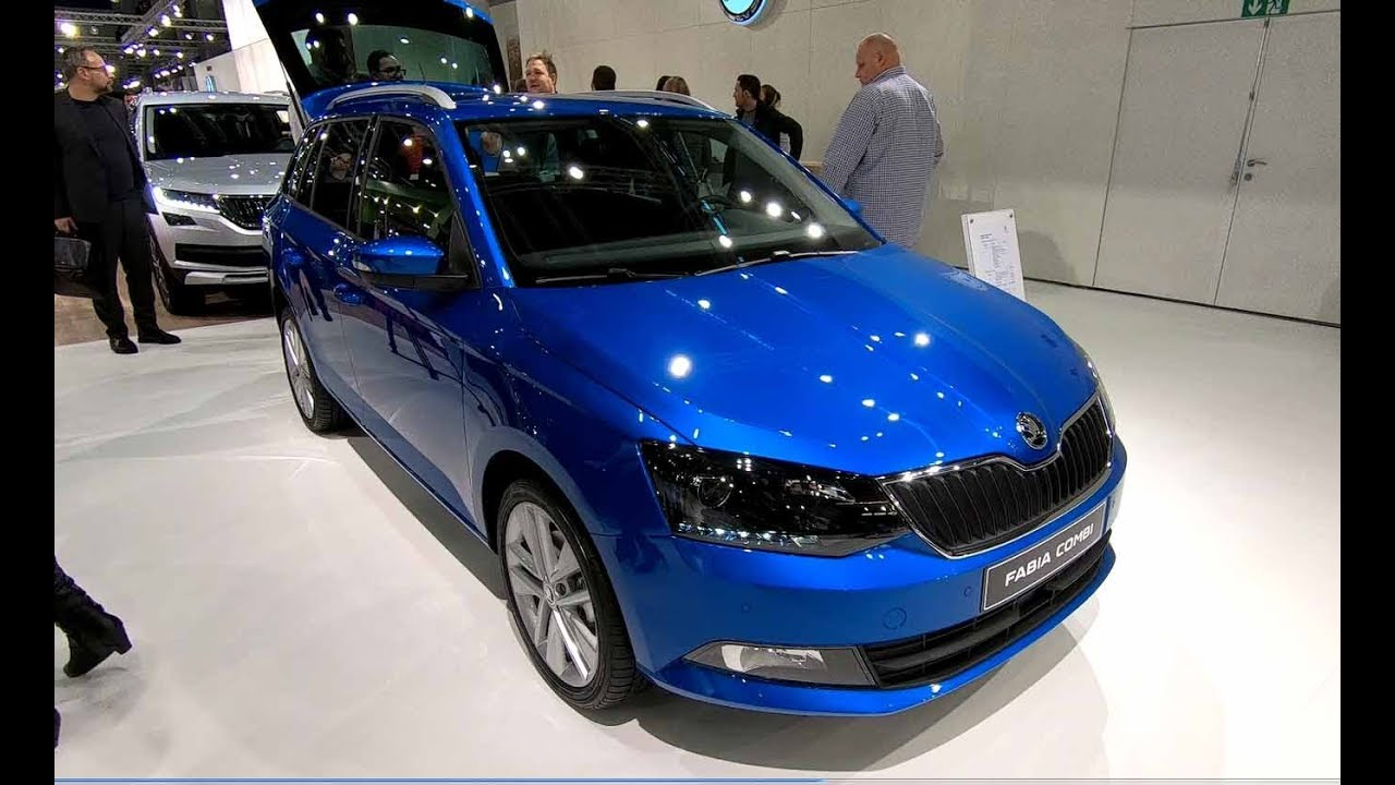Skoda Fabia Combi Style Race Blue Metallic New Model Walkaround