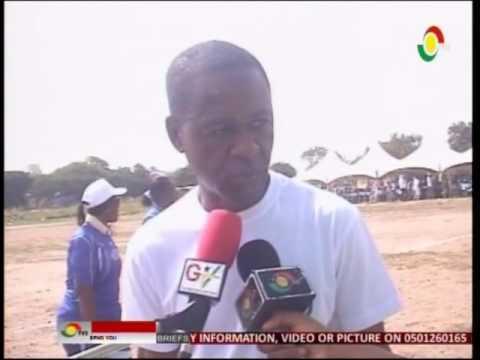 News360 - Tex Style Ghana staff to build canteen for Tema c4 basic school - 24/5/2016