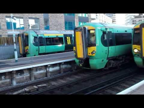 Trains at east croydon 25.10.17