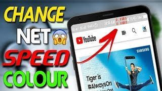 Change Internet Speed Meter Colour Without Root | Tinynetstat App Review | Aditya Knight