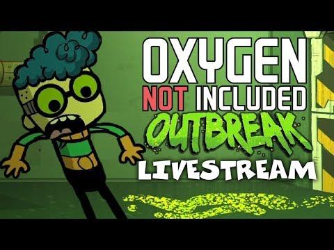 Germ Warfare! - Oxygen Not Included Gameplay - Outbreak Update - Livestream