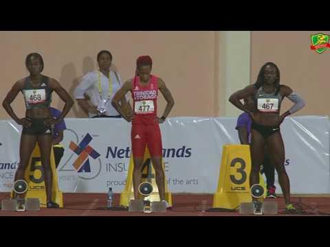 Women's 100m A - 2017 Grenada Invitational