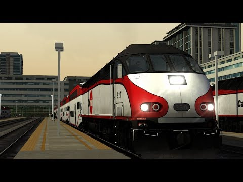 Train simulator 2018 Peninsula Corridor San Francisco – San Jose