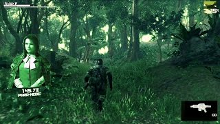 """MGS3: Snake Eater"" on the FOX ENGINE [Gameplay] [Fanmade]"