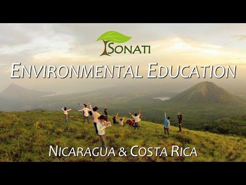 Free environmental education in Nicaragua & Costa Rica - SONATI Association