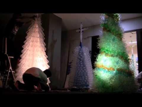 Pohon Natal daur ulang.m4v - YouTube