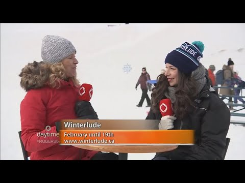 Daytime live at Winterlude