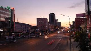 Chelyabinsk Time Lapse 1   HD 1080