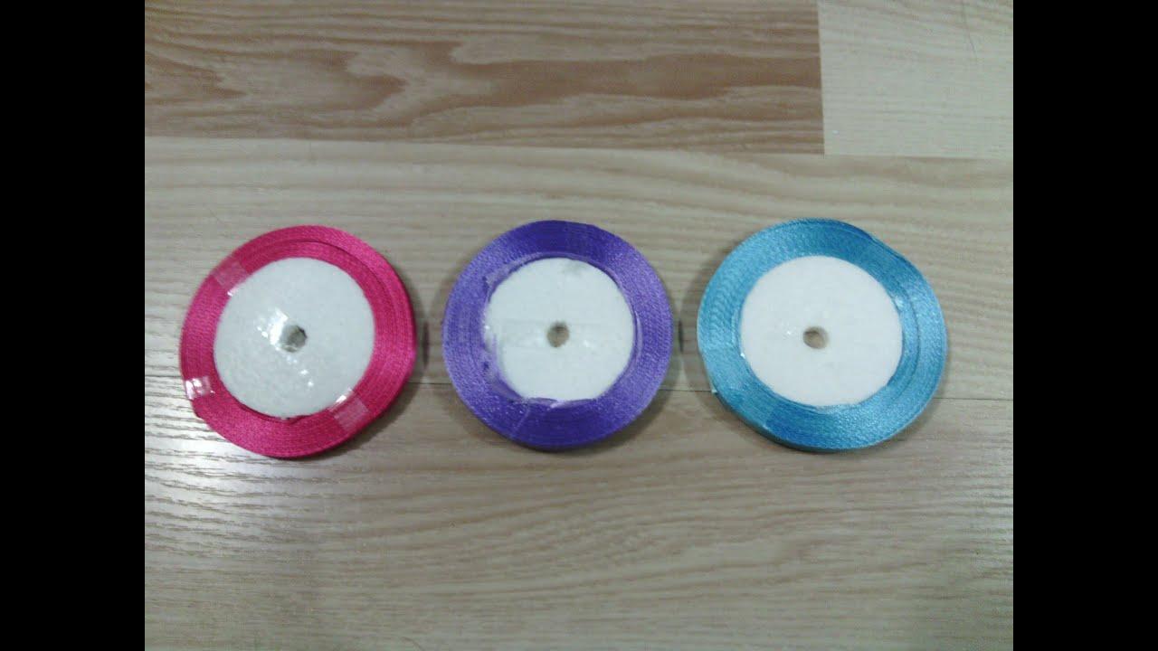 Горячие и дешёвые атласные ленты оптом для творчества. Разные цвета и формы на выбор!