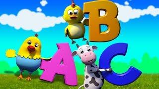 Chanson abc | Vidéo d'apprentissage | chanson pour enfants | Learn ABC | Alphabets Song