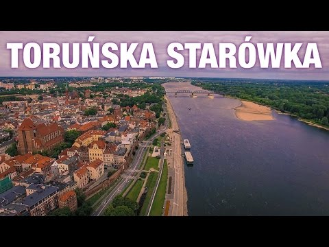 The Old Town of Torun from above / Phantom 3 Professional