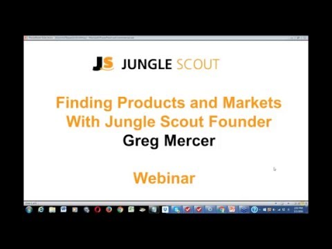Jungle Scout Tutorial with Jungle Scout Founder Greg Mercer